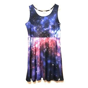 CowCow Galaxy Skater Space Dress!